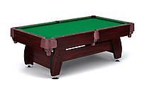 Бильярдный стол VIP Extra 9FT cherry-green с сетками профессиональный для дома, Львов