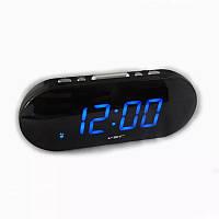 Часы электронные VST 717-5 (синие табло), настольные часы с будильником