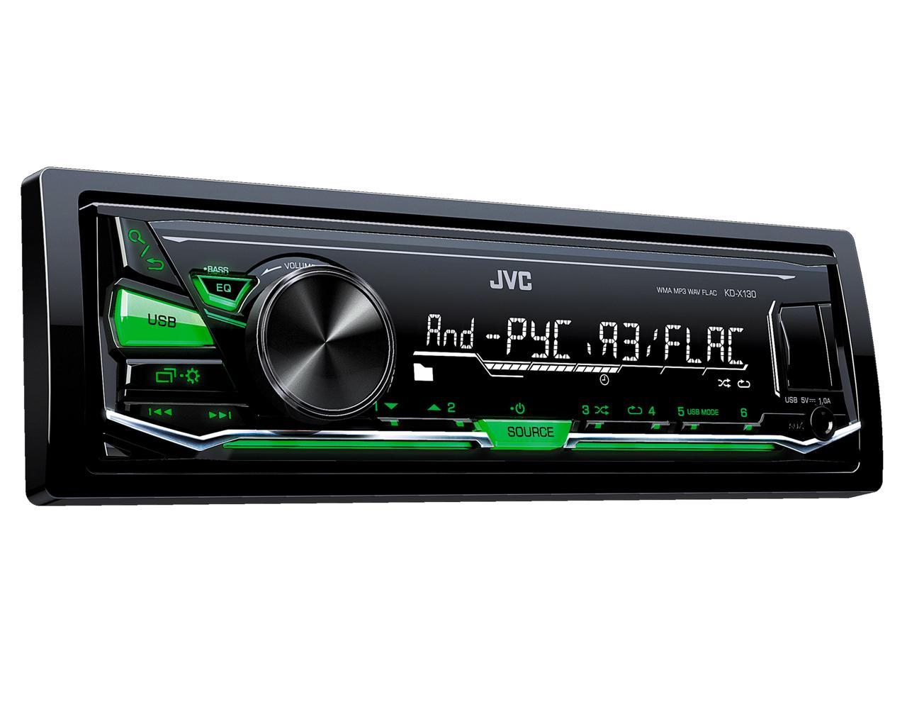 Автомагнитола JVC KD-X130 (ресивер)