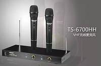 Профессиональная радиосистема Takstar TS-6700HH, беспроводные микрофоны