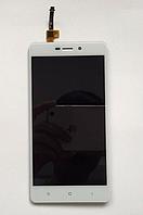 Оригинальный дисплей (модуль) + тачскрин (сенсор) для Xiaomi Redmi 3 | 3 Pro | 3s | 3s Prime | 3x (белый)