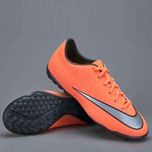 Детская футбольная обувь (многошиповки) Nike  Mercurial Victory V TF Jnr