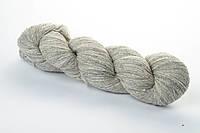 Однотонная  пряжа для вязания Кауни Natural Color 400 Эстония) светло-серый натуральная шерстяная пряжа