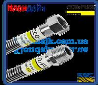EcoFlex сильфонная подводка для газа L-60 см D 1/2 гайка-штуцер