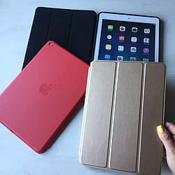 Золотой кожаный чехол Smart Case для iPad Air 2