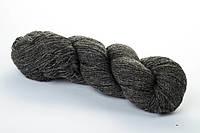 Натуральная пряжа Кауни Natural Color 800 темно-серый Пряжа из 100% натуральной шерсти натурал колор