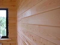 Монтаж Блок-Хауса,Имитации бруса (Фальшбрус) под ключ
