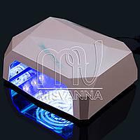 УФ лампа POWERFUL UV+LED DIMOND на 36 Вт (shampan)