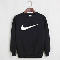 Свитшот мужской с принтом Nike Найк Кофта черная