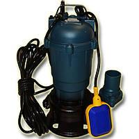 Фекальный насос чугунный корпус с измельчителем WQD 10-10-1.1 H.World