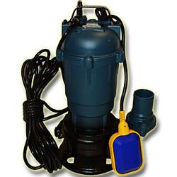 Фекальный насос чугунный корпус с измельчителем WQD 10-10-1.1 FORWATER