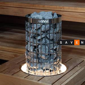 Монтажний фланець з підсвічуванням HPC2L для кам'янок Harvia Cilindro