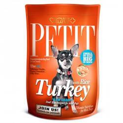 Petit Adult с индейкой и рисом для взрослых собак, 300 гр