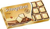 Шоколад Schogetten Trilogia 15 шт 100 г (Германия)