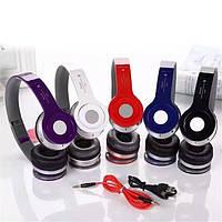 Наушники беспроводные Bluetooth s450 с FM радио
