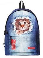 Рюкзак городской Кот