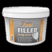 Шпаклевка Face Filler Eskaro 10л - Универсальная заполняющая, фасадная шпатлевка (Эскаро Фейс Филлер)