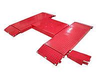 Подъёмник ножничный пневматический PPN-2500K 2,5 тонн (AIR KRAFT)