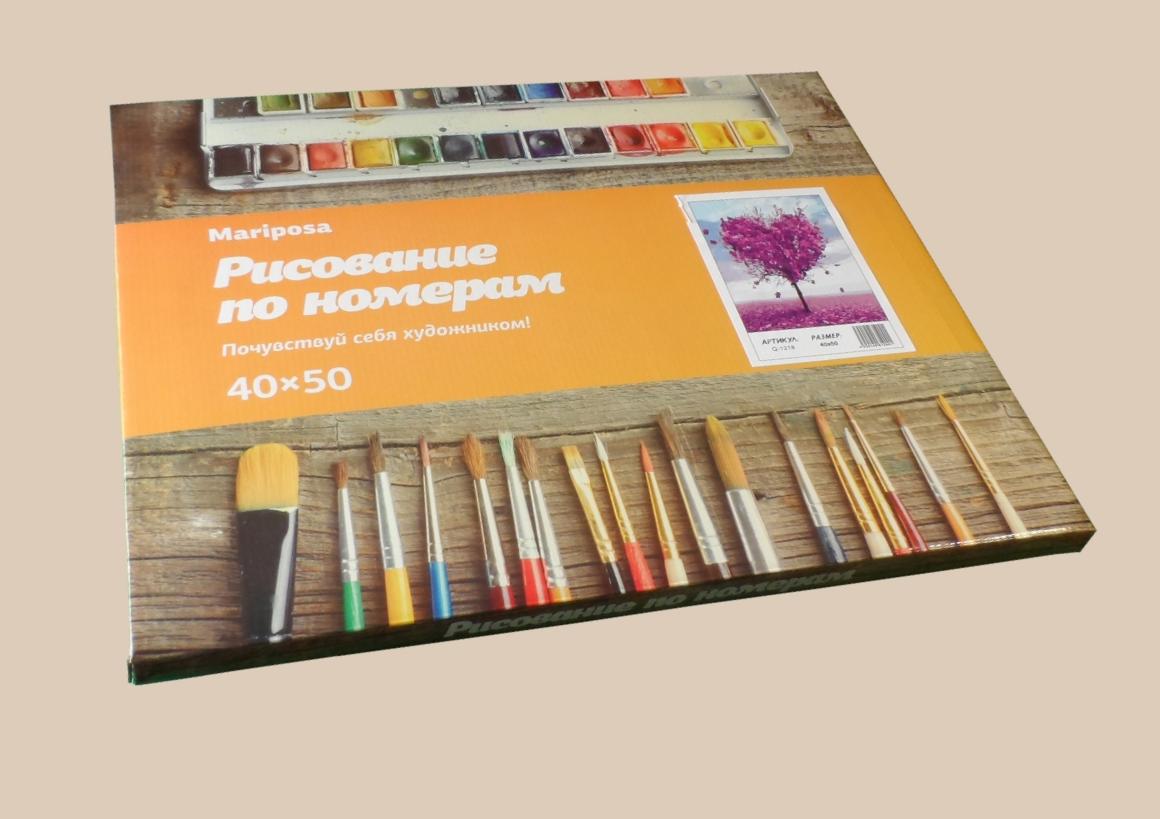 Раскраски для взрослых 40×50 см. Сиреневый фонарь купить в ...