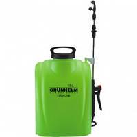 Опрыскиватель аккумуляторный Grunhelm GHS-16 (Бак-16л.) Купить Цена