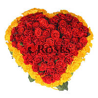 Сердце Эль торо 101 красная роза