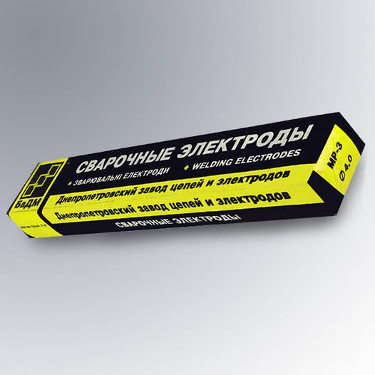 Электроды сварочные МР-3 Ф3.0  БаДМ (5кг)