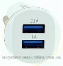Авто-зарядное устройство Qihang 2*USB QH-1630, фото 3