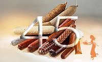 """Фиброузная оболочка для домашних колбас """"Pani Salami"""", диаметр 45, цвет прозрачный"""