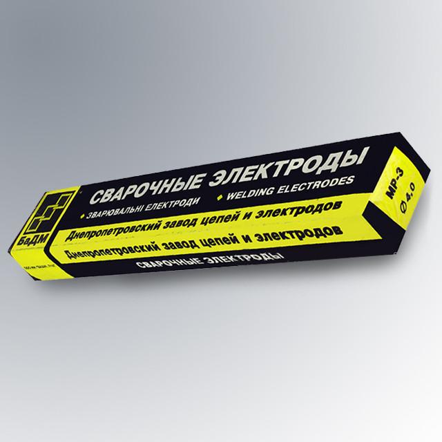Электроды сварочные МР-3 Ф4.0  БаДМ (5кг)