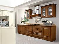 Кухня в бежево-коричневых тонах Вероника