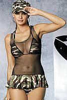 Женское эротическое белье костюм Soldier dress
