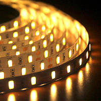 LED лента Biom 12V SMD5630 60led/m 15W IP20 Теплый белый