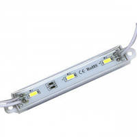 LED модуль Biom SMD5730 1,5W 3Led 12V (IP65) красный