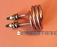 Тэн дистилляторный медицинский 2500Вт (спиралевидный) / 220B / медный ( на латунных штуцерах Ø16мм )  Украина, фото 1