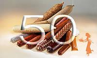"""Фиброузная оболочка для домашних колбас """"Pani Salami"""", диаметр 50, цвет прозрачный"""