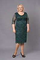 Нарядное женское платье для полных женщин
