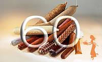 """Фиброузная оболочка для домашних колбас """"Pani Salami"""", диаметр 60, цвет прозрачный"""