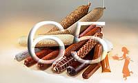 """Фиброузная оболочка для домашних колбас """"Pani Salami"""", диаметр 65, цвет прозрачный"""