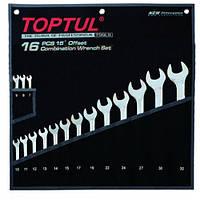 "Набор ключей комбинированных 16 шт. 7-32 ""Hi-Performance"" Toptul GPAX1601 (Тайвань)"