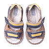 Кожаные ортопедические босоножки Miracle Me (коричневые). Размеры 21-25., фото 4