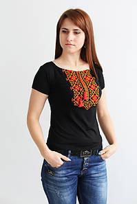 Вишита жіноча футболка Два кольори А-9
