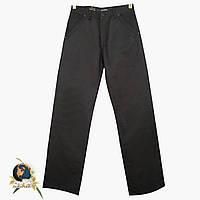 Джинсы мужские прямые Le Gutti с косыми карманами чёрного цвета 33 размер.