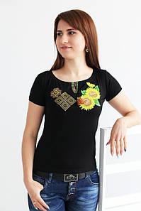 Вишита жіноча футболка Поєднання А-1