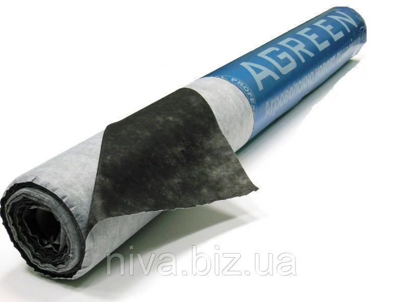 Агроволокно Чорно-Біле 50 г/м 1,6*100 м Перфорація 3 отвори Агрін