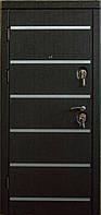 Элитные бронедвери в квартиру (три контура уплотнения) модель ДОМИНИКА венге