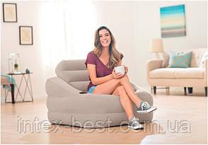 Надувное кресло Intex 68587 Accent Chair, фото 2