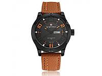 Красивые модные мужские наручные часы Naviforce. Отличное качество. Доступная цена.   Код: КГ910