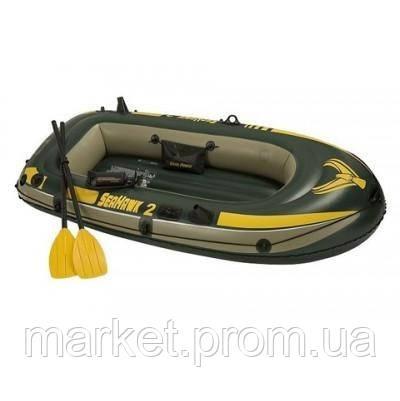 Надувная двух местная лодка Intex 68346