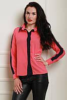 Стильная молодежная блуза из креп-шифона