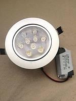Светодиодные led светильники потолочные встраиваемые Led High Power Lamp 9 W